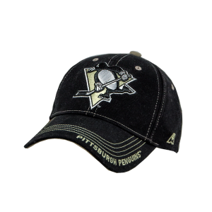 Бейсболка Atributika NHL Pittsburgh Logo